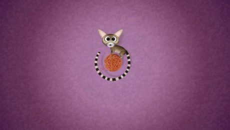 Ubuntu 13.04 Raring Ringtail Wallpaper