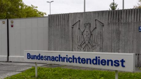 Bundesnachrichtendienst Einfahrtbereich