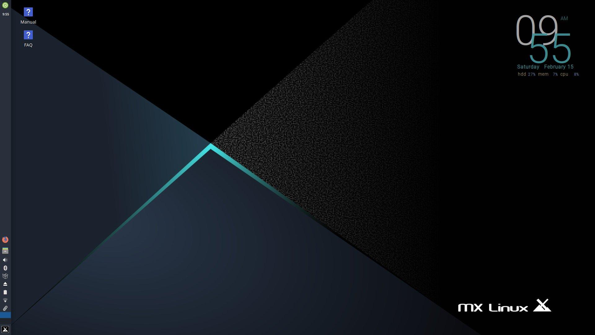 Der aktualisierte Xfce Desktop