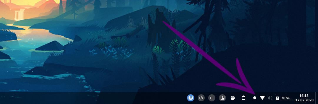 Screenshot vom Screen Recorder Icon